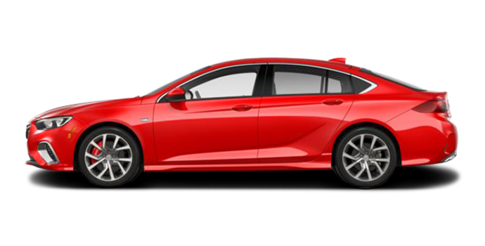 2018 Buick Regal Sportback GS | Photo 4 | Sport Red