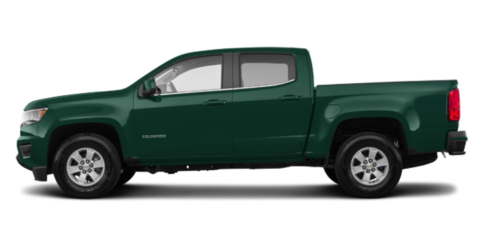 2018 Chevrolet Colorado WT | Photo 4 | Deepwood Green Metallic