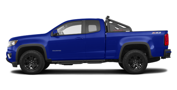 2018 Chevrolet Colorado Z71 | Photo 4 | Kinetic Blue Metallic