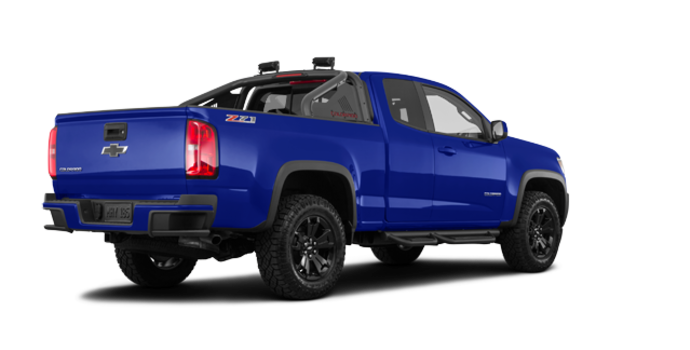 2018 Chevrolet Colorado Z71 | Photo 5 | Kinetic Blue Metallic