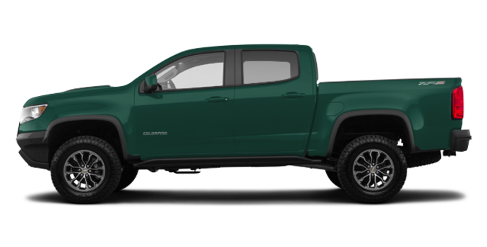 2018 Chevrolet Colorado ZR2 | Photo 4 | Deepwood Green Metallic