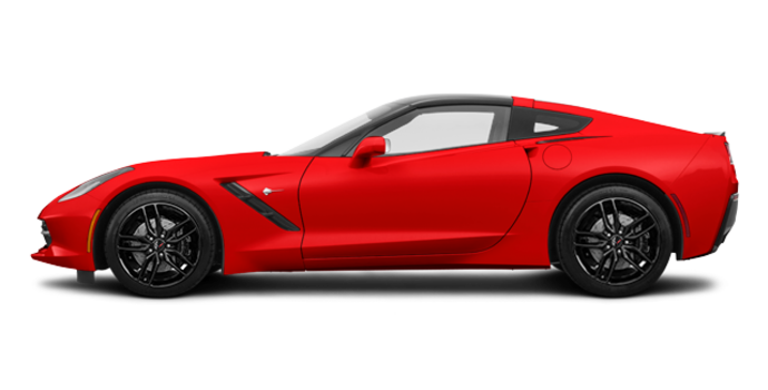 2018 Chevrolet Corvette Coupe Stingray Z51 3LT | Photo 4 | Torch Red