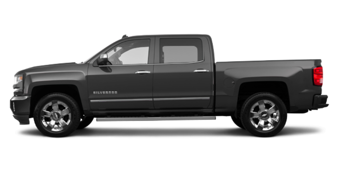 2018 Chevrolet Silverado 1500 LTZ 2LZ | Photo 4 | Graphite Metallic