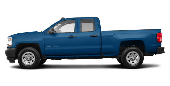 2018 Chevrolet Silverado 1500 WT | Photo 4 | Deep Ocean Blue Metallic