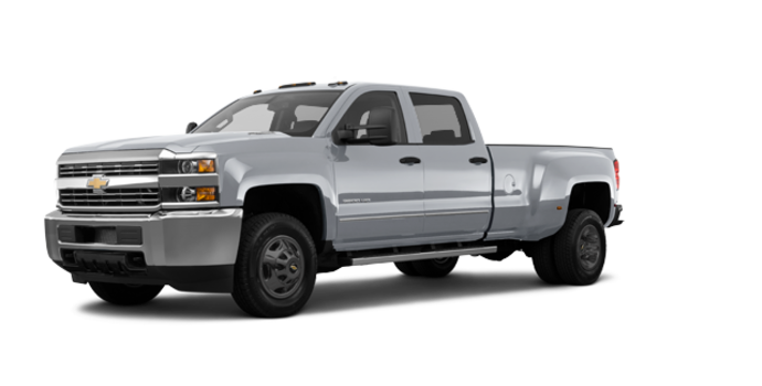 2018 Chevrolet Silverado 3500 HD WT | Photo 6 | Silver Ice Metallic