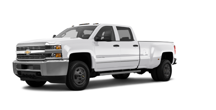 2018 Chevrolet Silverado 3500 HD WT | Photo 6 | Summit White