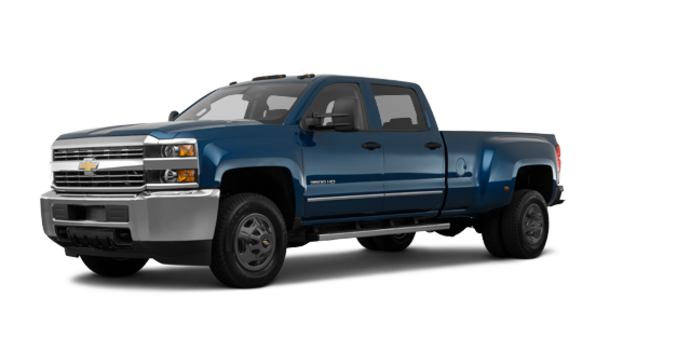 2018 Chevrolet Silverado 3500 HD WT | Photo 6 | Deep Ocean Blue Metallic
