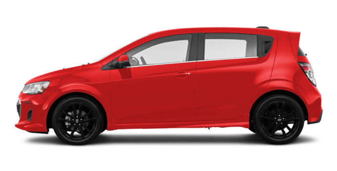 2018 Chevrolet Sonic Hatchback PREMIER | Photo 4 | Red Hot