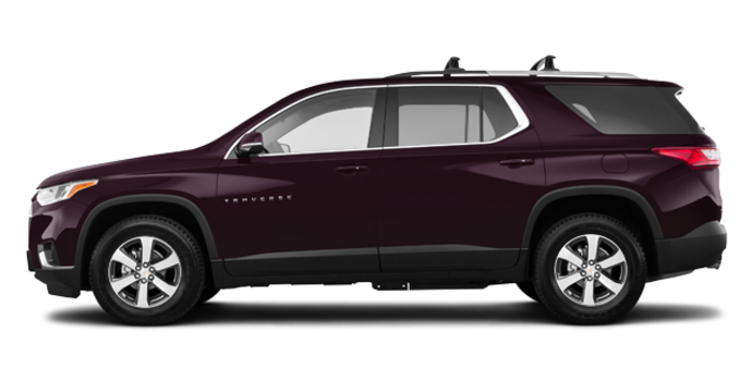 2018 Chevrolet Traverse LT TRUE NORTH | Photo 4 | Black Currant Metallic