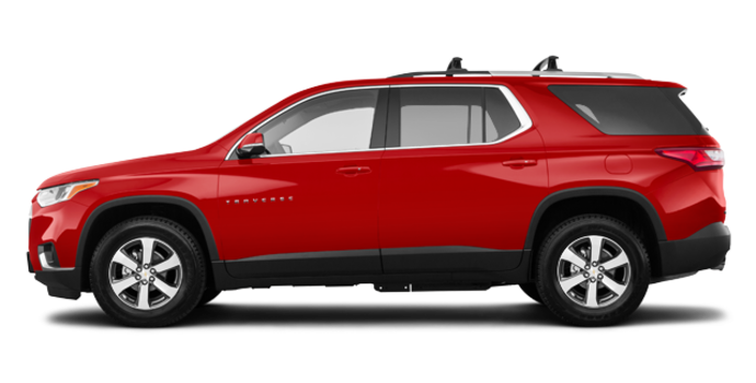 2018 Chevrolet Traverse LT TRUE NORTH | Photo 4 | Cajun red tintcoat
