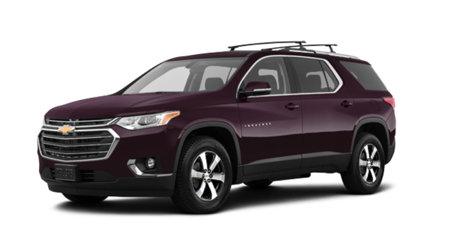2018 Chevrolet Traverse LT TRUE NORTH | Photo 6 | Black Currant Metallic