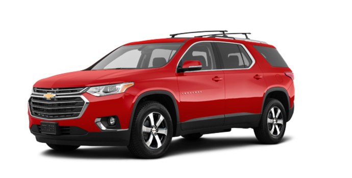 2018 Chevrolet Traverse LT TRUE NORTH | Photo 6 | Cajun red tintcoat