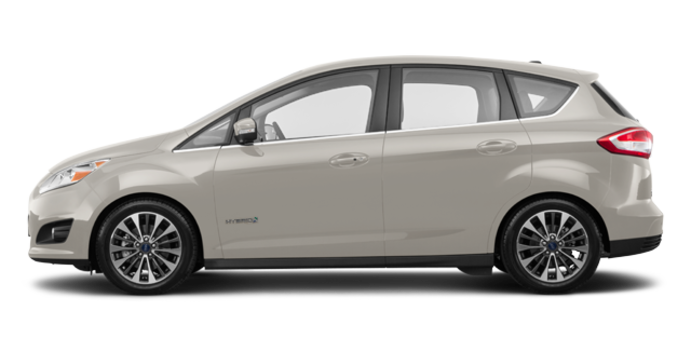 2018 Ford C-MAX HYBRID TITANIUM | Photo 4 | White Gold