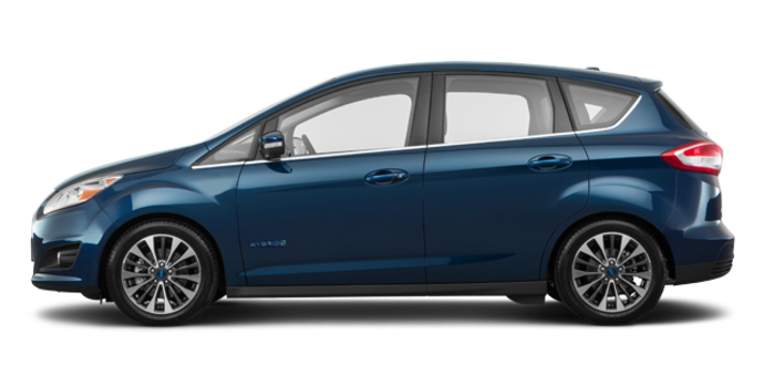 2018 Ford C-MAX HYBRID TITANIUM | Photo 4 | Blue