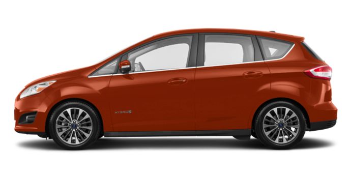 2018 Ford C-MAX HYBRID TITANIUM | Photo 4 | Hot Pepper Red Tinted Clearcoat
