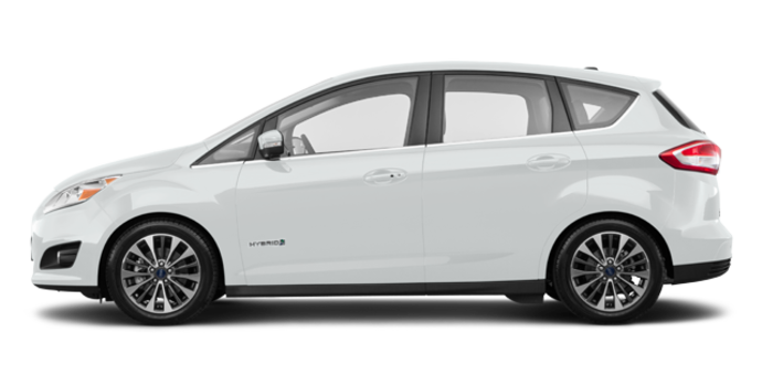 2018 Ford C-MAX HYBRID TITANIUM | Photo 4 | Oxford White
