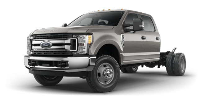 2018 Ford Chassis Cab F-350 XLT | Photo 4 | Stone Gray