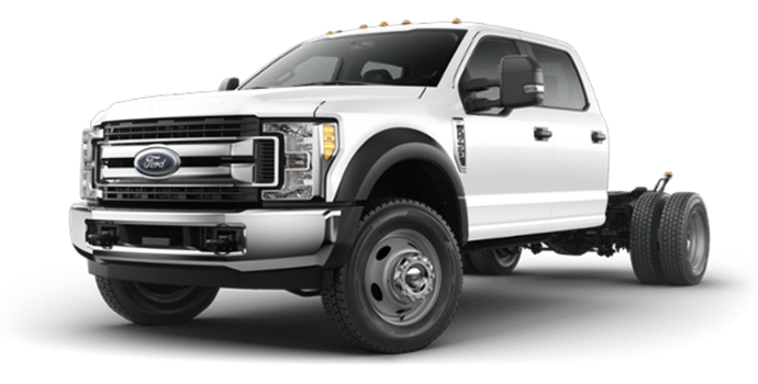 2018 Ford Chassis Cab F-450 XLT | Photo 4 | Oxford White