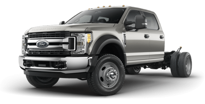 2018 Ford Chassis Cab F-450 XLT | Photo 4 | Stone Gray