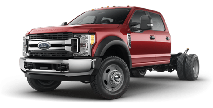 2018 Ford Chassis Cab F-450 XLT | Photo 4 | Ruby Red