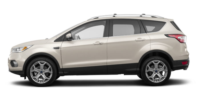 2018 Ford Escape TITANIUM | Photo 4 | White Gold