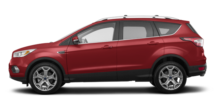 2018 Ford Escape TITANIUM | Photo 4 | Ruby Red Metalic Tinted