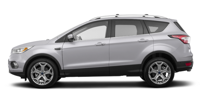 2018 Ford Escape TITANIUM | Photo 4 | Ingot silver