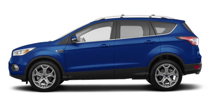 2018 Ford Escape TITANIUM | Photo 4 | Blue Lightning