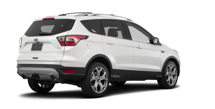 2018 Ford Escape TITANIUM | Photo 5 | White Platinum Metallic