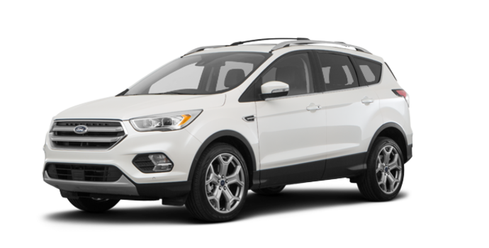 2018 Ford Escape TITANIUM | Photo 6 | White Platinum Metallic