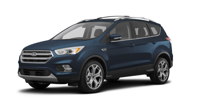 2018 Ford Escape TITANIUM | Photo 6 | blue metallic