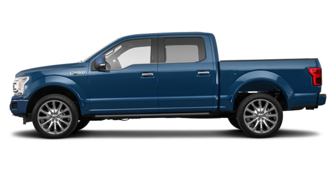 2018 Ford F-150 LIMITED | Photo 4 | Blue Jeans Metallic