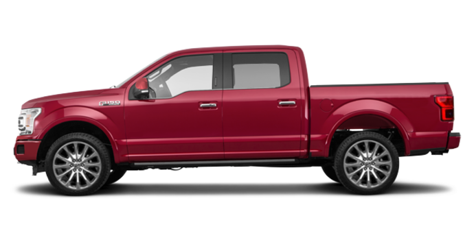 2018 Ford F-150 LIMITED | Photo 4 | Ruby Red Metallic