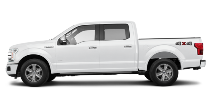 2018 Ford F-150 PLATINUM | Photo 4 | White Platinum Metallic