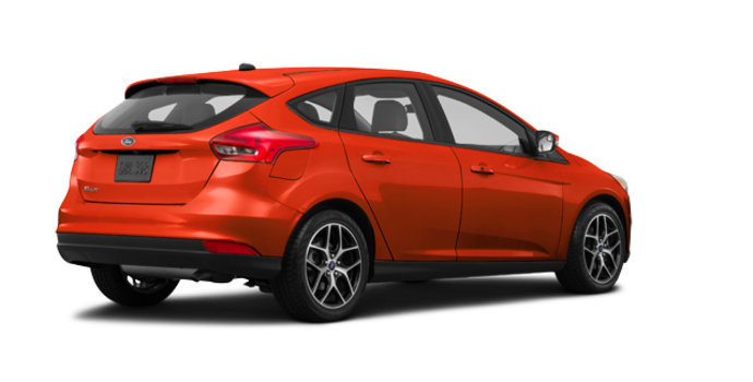 2018 Ford Focus Hatchback SEL | Photo 5 | Hot Pepper Red Metallic