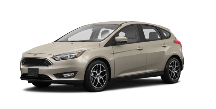 2018 Ford Focus Hatchback SEL | Photo 6 | White Gold