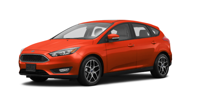 2018 Ford Focus Hatchback SEL | Photo 6 | Hot Pepper Red Metallic