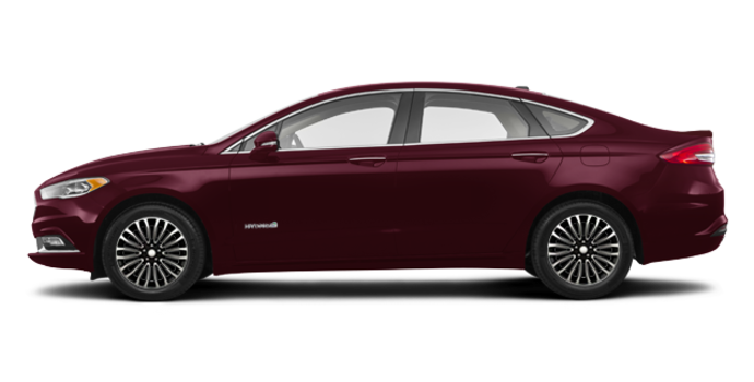 2018 Ford Fusion Hybrid TITANIUM | Photo 4 | Burgundy Velvet
