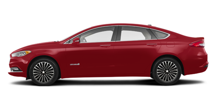 2018 Ford Fusion Hybrid TITANIUM | Photo 4 | Ruby Red