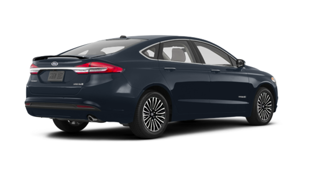 2018 Ford Fusion Hybrid TITANIUM | Photo 5 | Blue Metallic