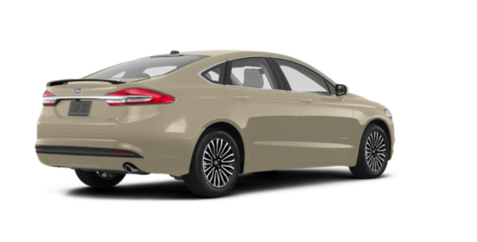 2018 Ford Fusion Hybrid TITANIUM | Photo 5 | White Gold