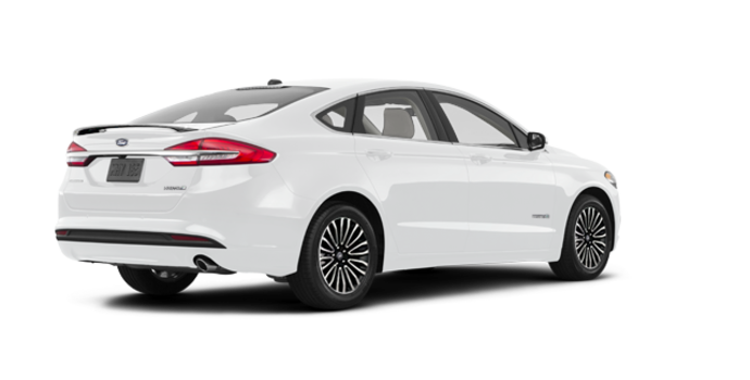 2018 Ford Fusion Hybrid TITANIUM | Photo 5 | Oxford White