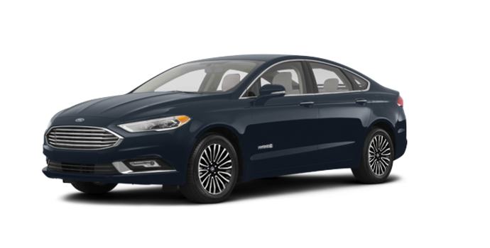 2018 Ford Fusion Hybrid TITANIUM | Photo 6 | Blue Metallic
