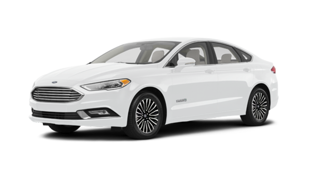 2018 Ford Fusion Hybrid TITANIUM | Photo 6 | Oxford White