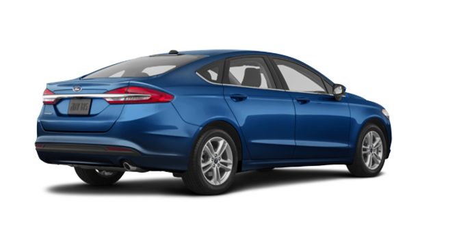 2018 Ford Fusion S | Photo 5 | Lightning Blue