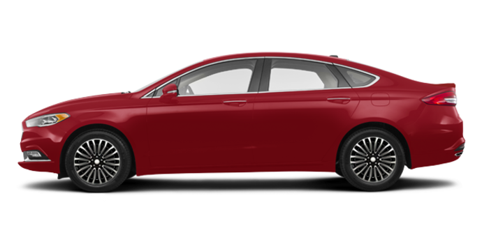 2018 Ford Fusion TITANIUM | Photo 4 | Ruby Red