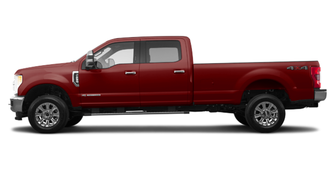2018 Ford Super Duty F-250 XLT | Photo 4 | Magma Red