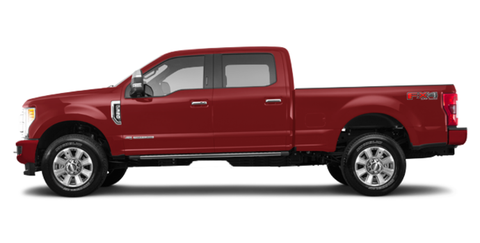 2018 Ford Super Duty F-350 PLATINUM | Photo 4 | Ruby Red
