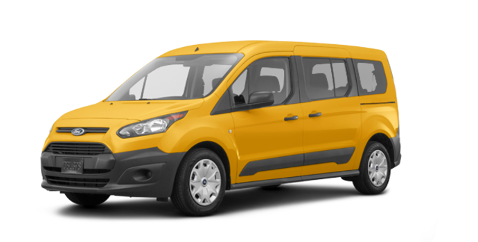 2018 Ford Transit Connect XL WAGON | Photo 6 | School Bus Yellow