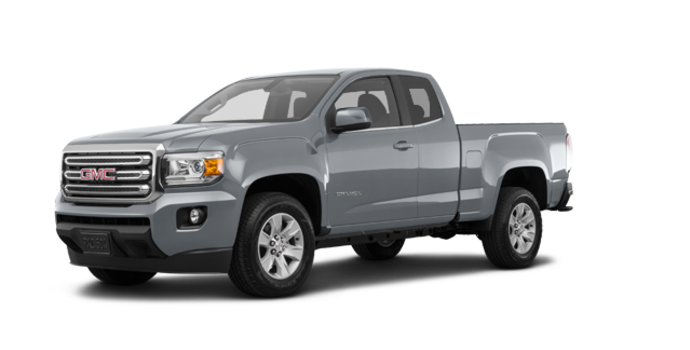 2018 GMC Canyon SLE | Photo 6 | Satin steel metallic